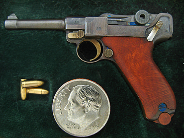 1/4 scale luger